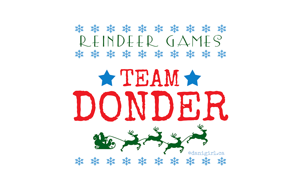Reindeer Games: Team Donder
