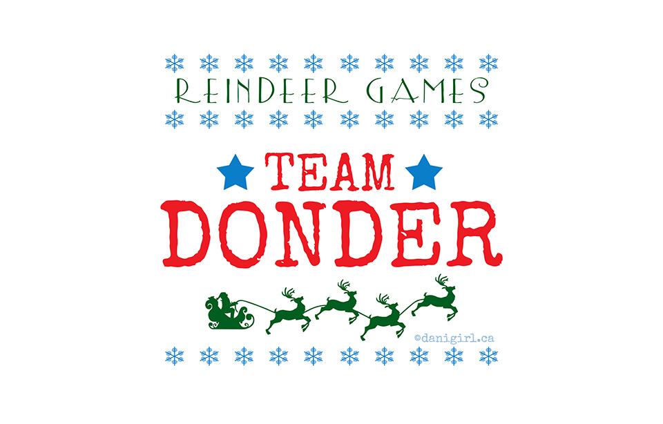 Reindeer Games: Team Donder