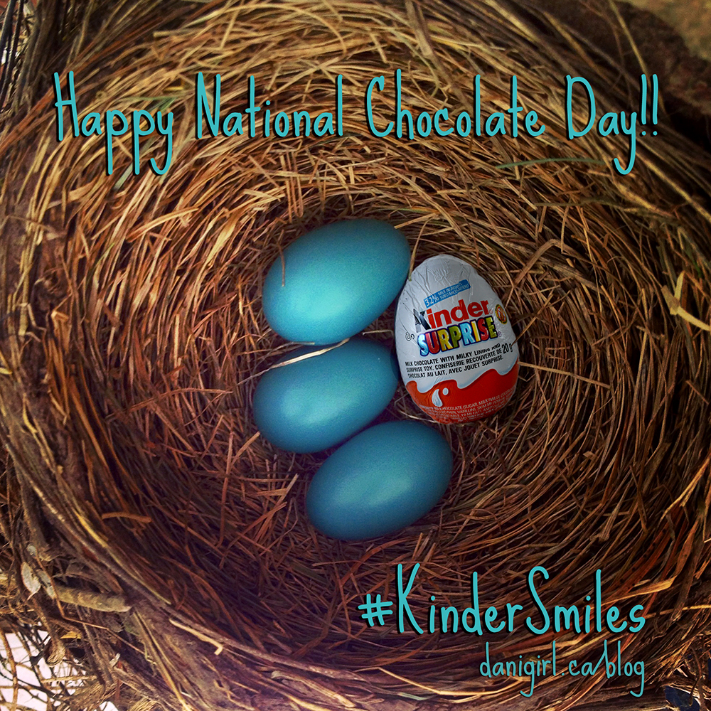 Kinder National Chocolate Day