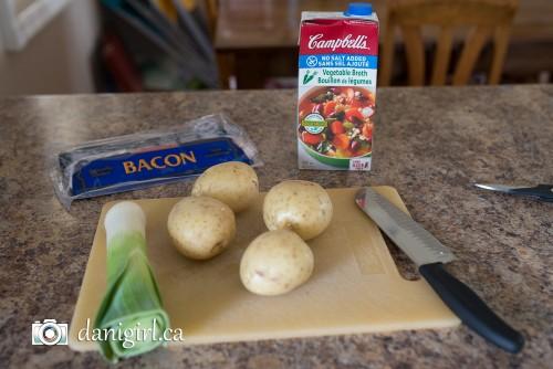 Potato bacon leek soup (1 of 7)