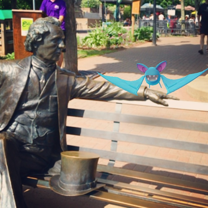 The Father of Confederation and a Zubat