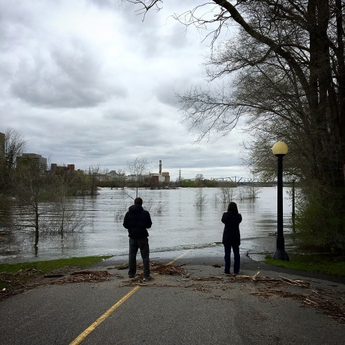 Photo of Ottawa flooding by Danielle Donders