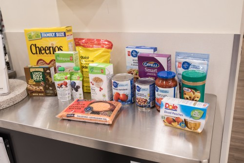 Some great food drive items, as recommended by a dietician