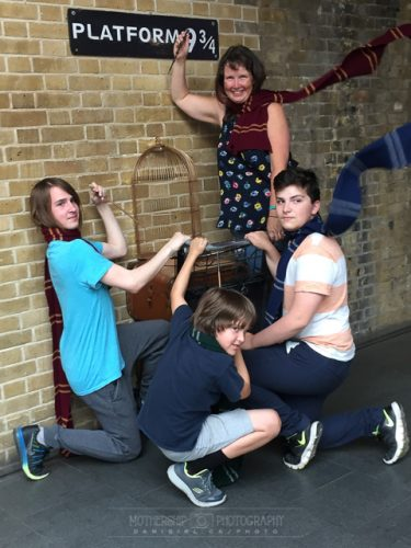 Kings Cross Platform 9 3/4