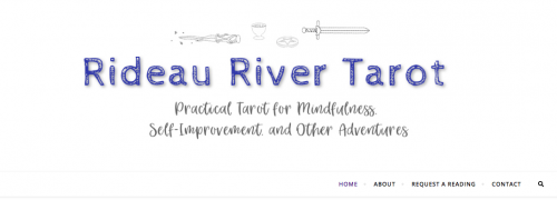 Rideau River Tarot blog