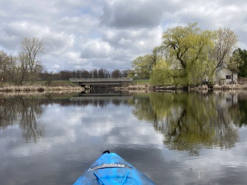 kayaking at Cranberry Creek