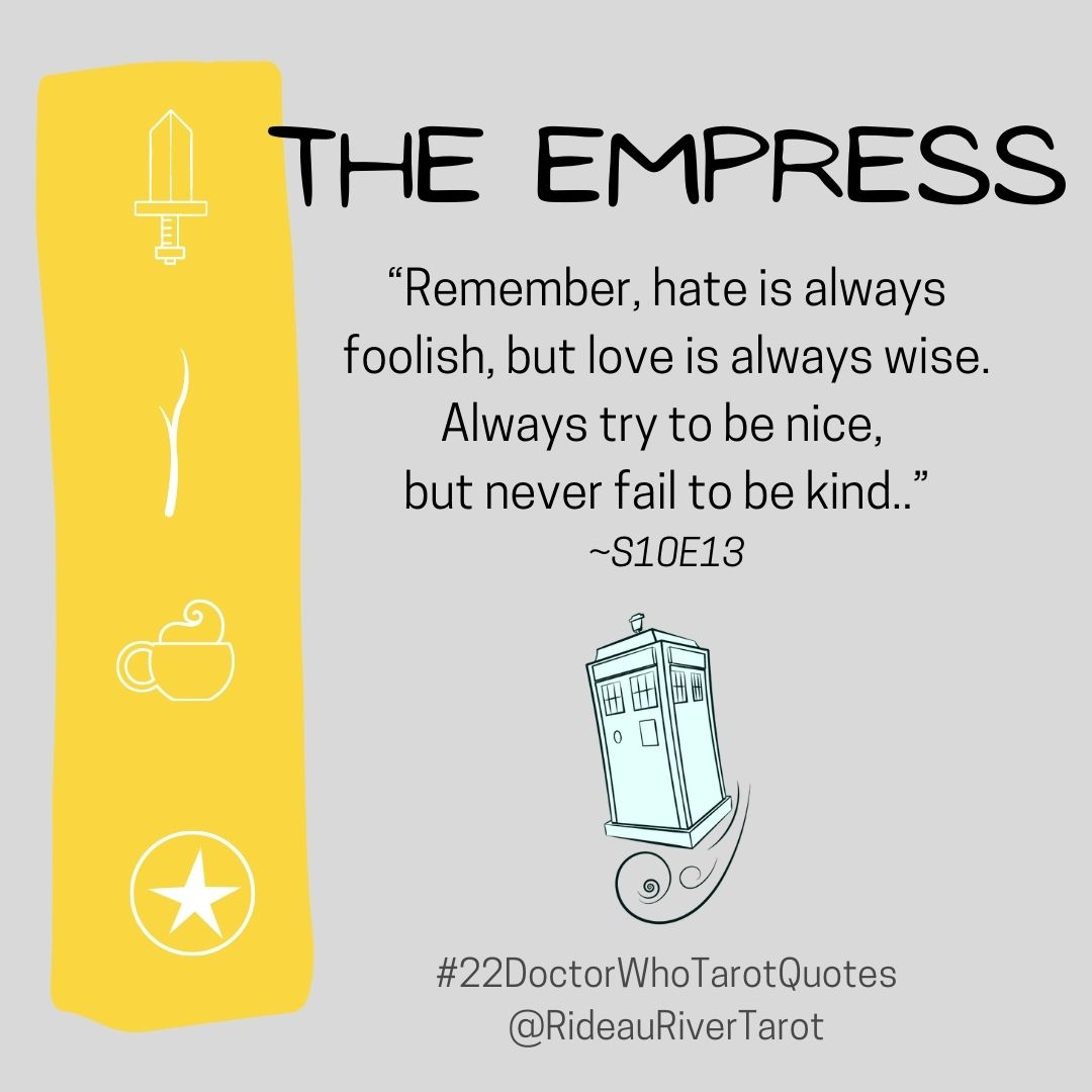Empress Doctor Who quote
