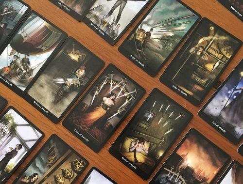 Steampunk tarot card deck review