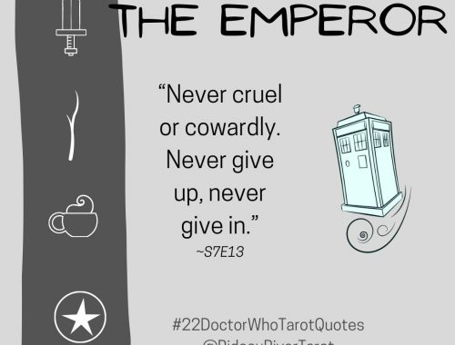 NEVER Cruel Or Cowardly. NEVER Give Up. NEVER Give In.